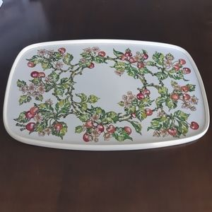 Vintage Cherry Serving Tray